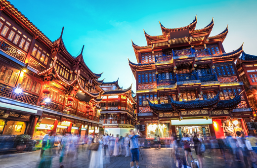 Cheap flights to Shanghai